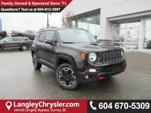 2015 Jeep Renegade Trailhawk <B>*5.0 TOUCHSCREEN*Selec-Terrai...
