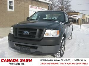 2007 Ford F150 AUTO, V8, LOW LOW 84km !! 12M.WRTY+SAFETY $7490