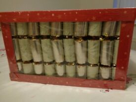 CHRISTMAS CRACKERS NEW IN THE BOX