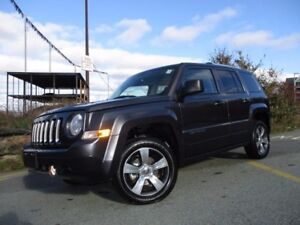 2017 Jeep PATRIOT HIGH ALTITUDE (4X4, NAVIGATION, HEATED LEATHER