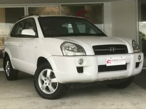 2006 Hyundai Tucson JM City White 4 Speed Sports Automatic Wagon Brendale Pine Rivers Area Preview