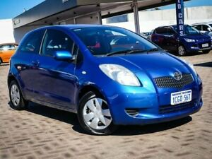 2006 Toyota Yaris NCP90R YR Blue 4 Speed Automatic Hatchback Morley Bayswater Area Preview