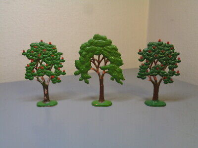 LEGO MURSTEN DENMARK VINTAGE 1950'S TREES COLLECTION VERY RARE ITEMS VERY GOOD