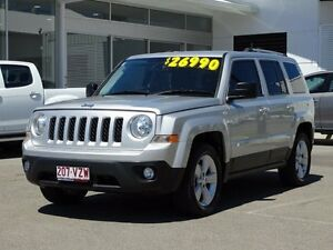 2013 Jeep Patriot MK MY14 Limited Bright Silver 6 Speed Sports Automatic Wagon Garbutt Townsville City Preview