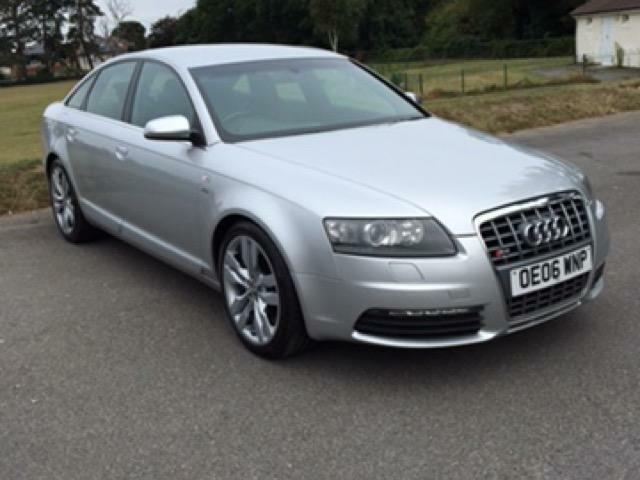 2006 06 audi s6 5 2 s6 v10 4d auto 435 bhp in. Black Bedroom Furniture Sets. Home Design Ideas
