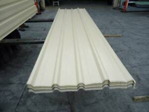 ROOFING IRON CLASSIC CREAM - DOUBLE SIDED @ 3.0 MTR Jimboomba Logan Area Preview