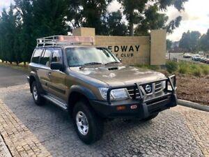 2003 Nissan Patrol GU III MY2003 ST Bronze 4 Speed Automatic Wagon