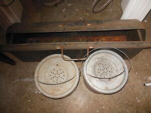 Old Pal galvanized minnow bucket London Ontario image 5