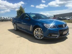 2013 Holden Ute VF MY14 SS V Ute Redline Blue 6 Speed Sports Automatic Utility Garbutt Townsville City Preview