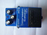 Vintage Boss Compression Sustainer CS-2