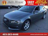 2012 AUDI A4 PREMIUM WAGON 2.0T AWD QUATTRO PANOROOF LOW KM