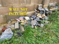 FREE to collect: Pond and other stones of varied sizes