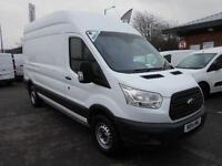 Ford Transit T350 LWB HIGH ROOF VAN 100PS DIESEL MANUAL WHITE (2014)
