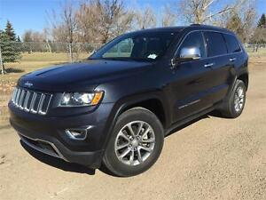2014 Jeep Grand Cherokee LIMITED 4x4    **LEATHER-SUNROOF**