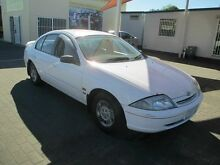 1998 Ford Falcon AU Futura White 4 Speed Automatic Sedan Coopers Plains Brisbane South West Preview