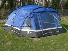 for sale is the Hi-Gear-Mojave-5-5 tent 3+2 bedrooms used but in vgc £70