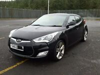 HYUNDAI VELOSTER S CAT D 22K 2013 63 MODEL LIGHT DAMAGED REPAIRABLE SALVAGE