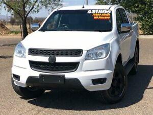 2015 Holden Colorado RG MY15 LTZ Crew Cab White 6 Speed Manual Utility