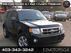 2010 Ford Escape XLT|4x4|LEATHER|only 77000kms!!!