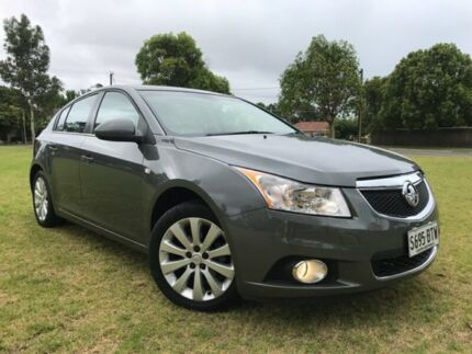 2011 Holden Cruze JH Series II MY12 CDX Grey 6 Speed Sports Automatic Hatchback Somerton Park Holdfast Bay Preview