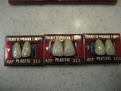 Dentsply Dental Teeth Trubyte Bioblend Upper Anterior Mould 42f113