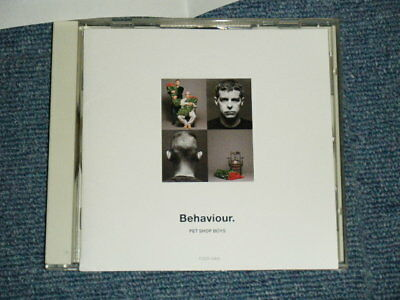 PET SHOP BOYS Japan 1990 TOCP-6441 NM CD BEHAVIOUR