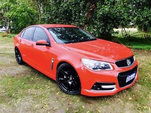 2015 Holden Commodore VF MY15 SV6 Storm Red 6 Speed Automatic Sedan Beckenham Gosnells Area Preview