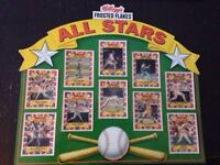 Kellogg's Frosted Flakes ALL STAR baseball card set