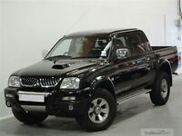 2005 Mitsubishi L200 Warrior 2.5TD. Good condition for age with lots of extras.