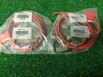 Motorola Mototrbo M1225 Cdm15501250 Gm300 Maxtrac New Power Cord W Fuse Lot 2