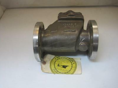 13329 2 Ips Cres Flange Mount Scupper Swing Check Valve Cf8m Stainless Steel