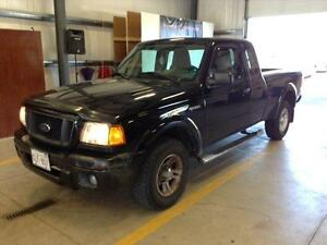 2004 Ford Ranger extra cab  XL 2wd 3.0 auto inspected/ lic $2995