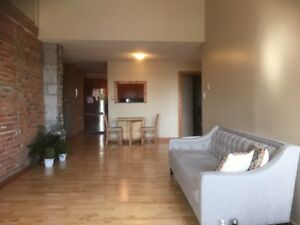 2BR Large Exposed Brick Loft in Downtown Waterfront Kingston