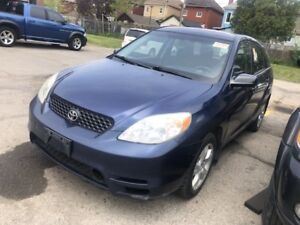 2003 Toyota Matrix ALLOYS NO ACCIDENTS LOW KM
