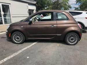 2013 FIAT 500 Lounge-FULL-AUTOMATIQUE-MAGS-CUIR