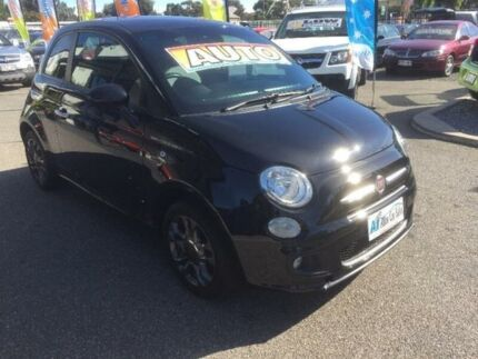 2014 Fiat 500 Series 3 S Black Sports Automatic Single Clutch Hatchback Port Adelaide Port Adelaide Area Preview