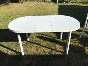 Free!  Kitchen Table and Six Chairs