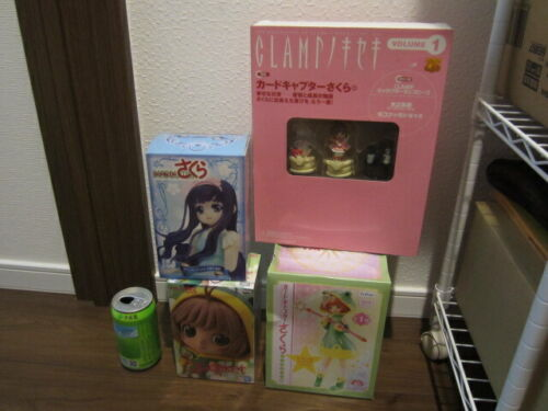 New Card Captor Sakura Figure 4pcs free shipping from Japan
