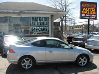 **2004 Acura RSX** Certified & Emission tested