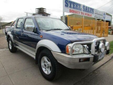 2004 Nissan Navara D22 ST-R (4x4) Blue 5 Speed Manual Dual Cab Pick-up Laverton Wyndham Area Preview