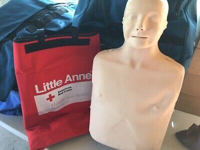 Laerdal 4 Pack Little Anne Adult Cpr Training Manikin W Rolling Case