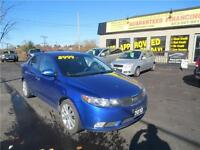 2010 Kia Forte SX LEATHER! GUARANTEED!! BLOW OUT PRICING!!