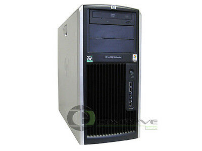 HP XW9300 Workstation Computer Desktop Tower PC Case DVD-ROM No PSU