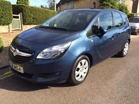 2014 (64) Vauxhall/Opel Meriva 1.4i TURBO 16v ( 120ps ) AUTOMATIC Exclusive
