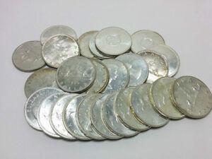 25 Canada Silver Dollars