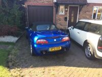 MG TF Convertible 1.8 Low Mileage Blue