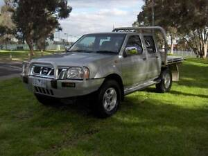 06 NISSAN NAVARA ST-R 3.0 LTR TURBO DIESEL 4X4 DUAL CAB UTE! Mordialloc Kingston Area Preview