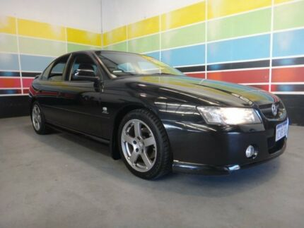 2004 Holden Commodore VZ SV6 Black 5 Speed Auto Active Select Sedan Wangara Wanneroo Area Preview