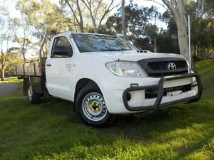 2008 Toyota Hilux KUN16R MY08 SR 4x2 5 Speed Manual Cab Chassis Pooraka Salisbury Area Preview