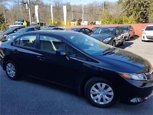 2012 Honda Civic Sdn LX   Car Loans Available For Any Credit